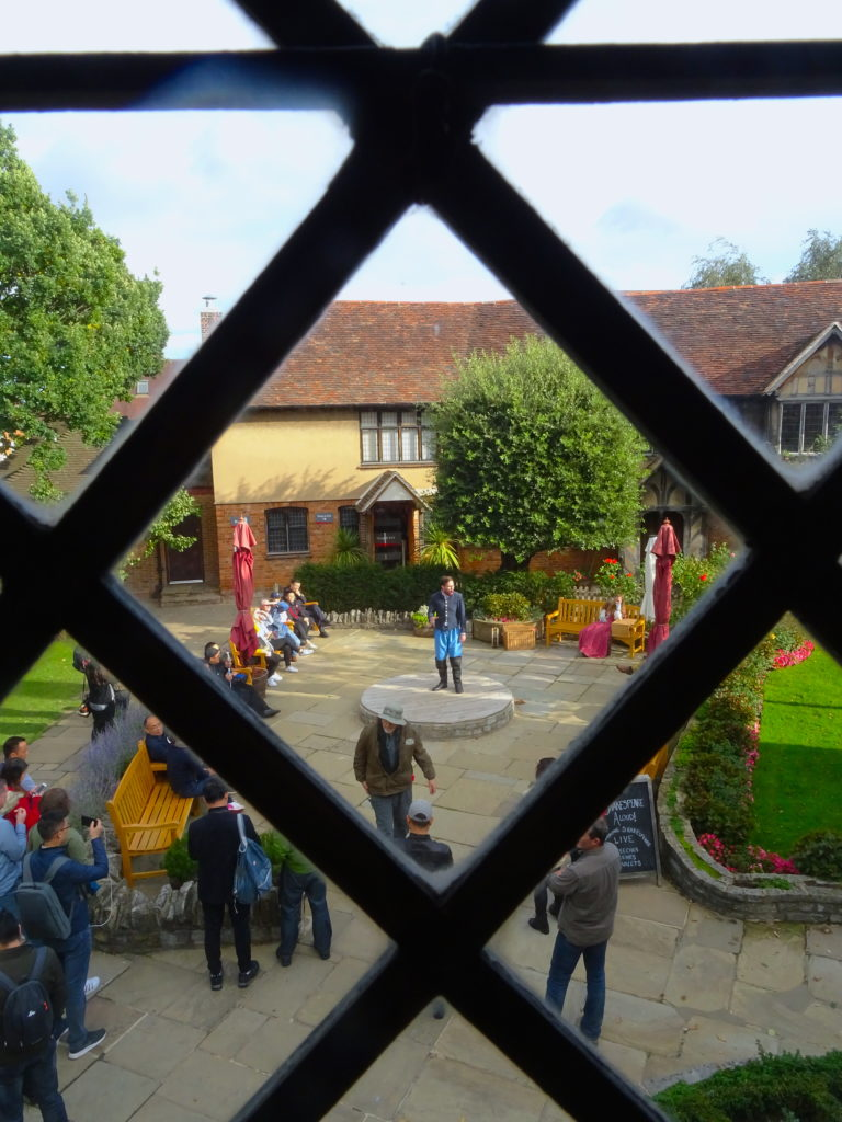 Actors In Shakespeare's Birthplace