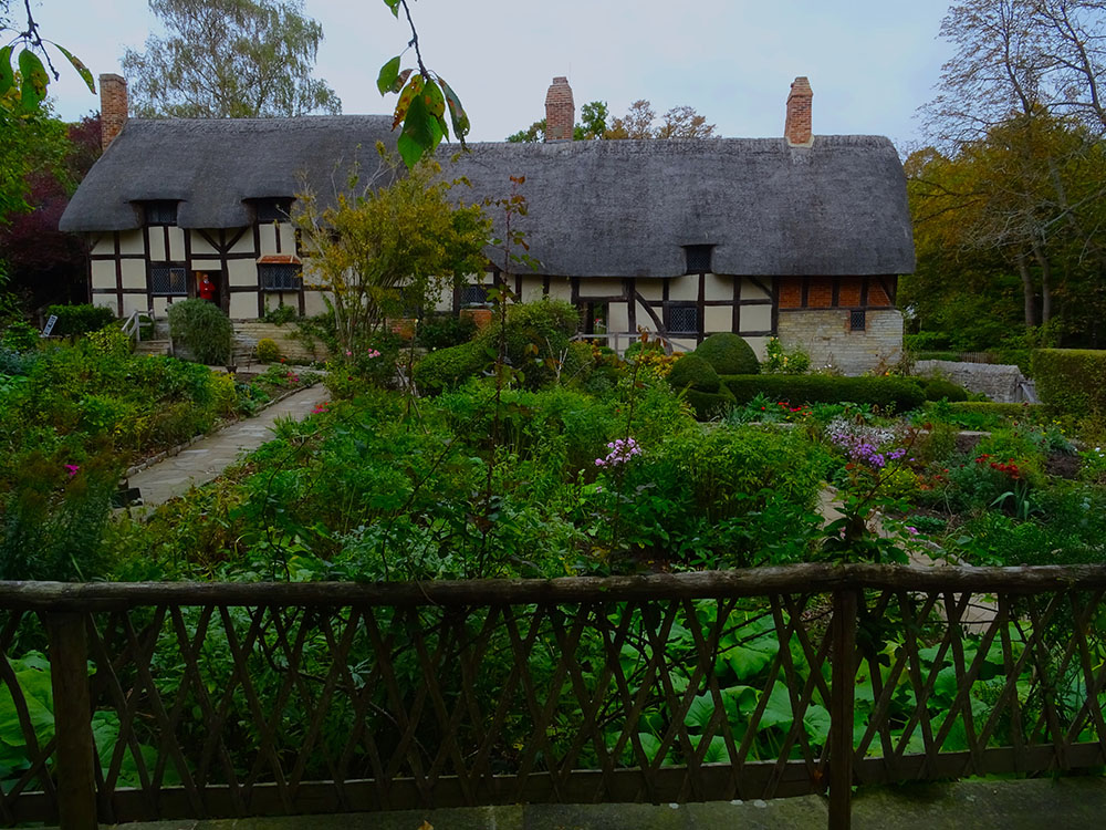 The Garden At Anne Hathaway's Cottage
