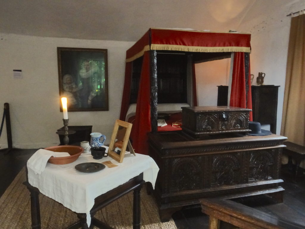 Hall's Croft Bedroom