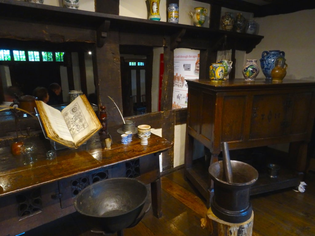 The Dispensary Room At Hall's Croft