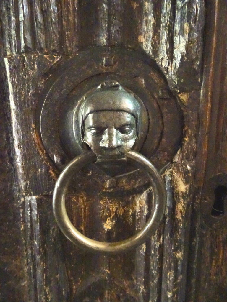 Door Knocker At Holy TrinityChurch
