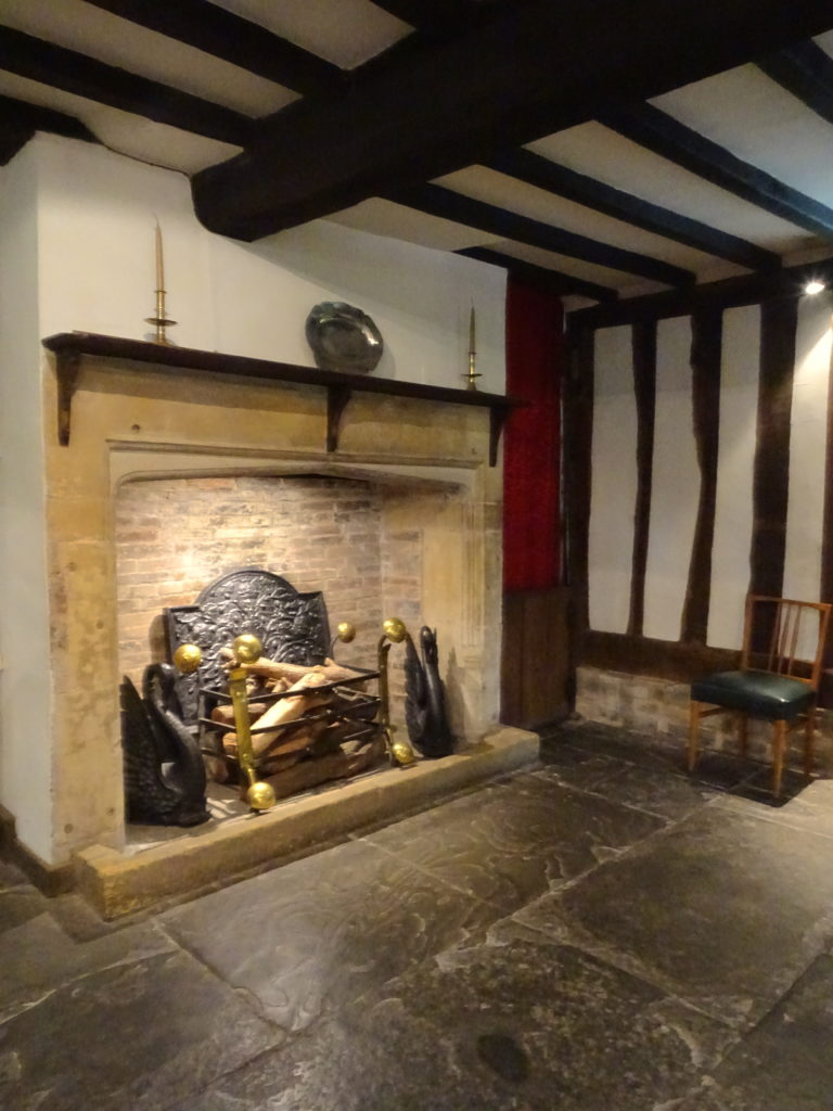 Hall's Croft Fireplace