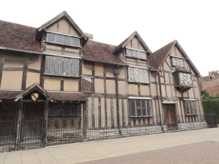 Shakespeares Birthplace, Though We Dont Truly Know If He Was Born here
