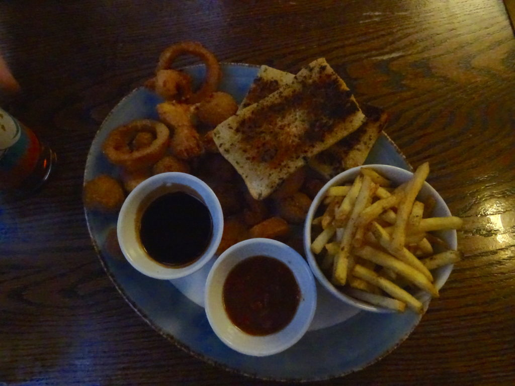Sharing Platter At The Dirty Duck