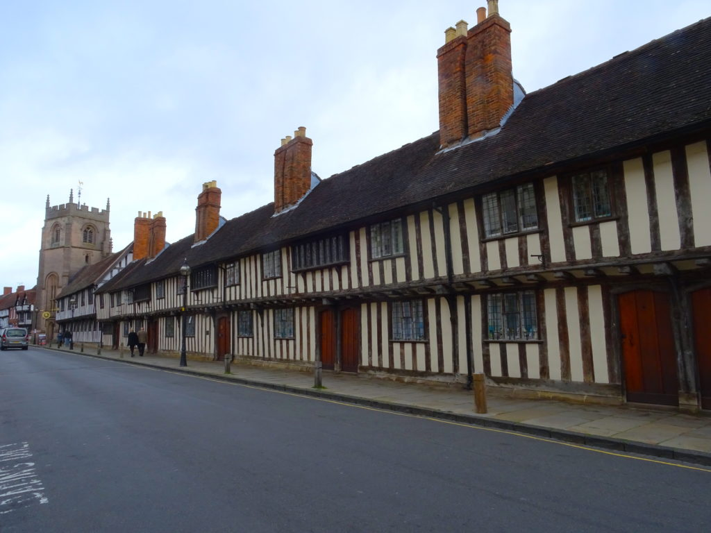 Tudor buildings Stratford-Upon-Avon