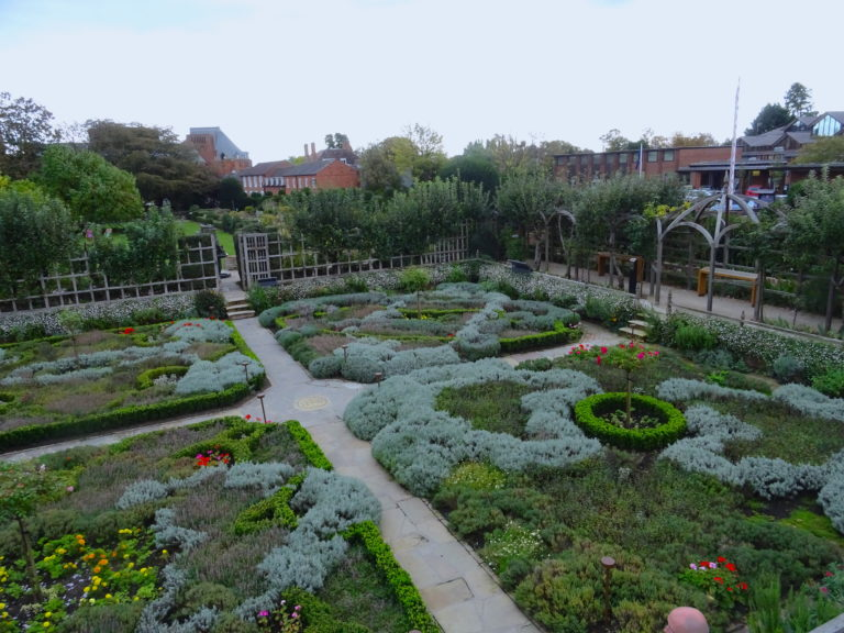 You Get A Great View Of The Knot Garden From The Museum