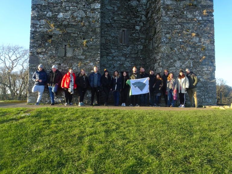 My Group On The Winterfell Tour