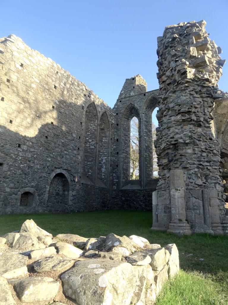 Inch Abbey Ruins
