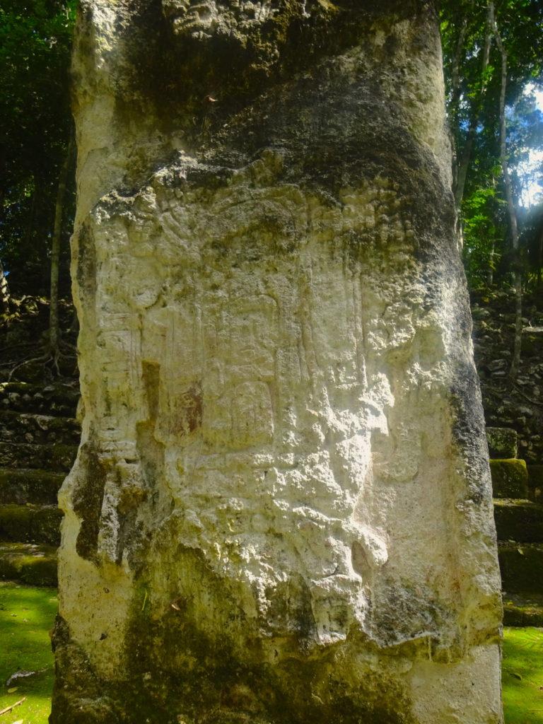 Stela In Calakmul