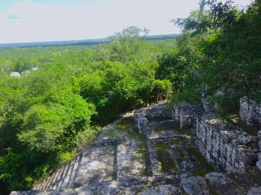 Structure II Calakmul