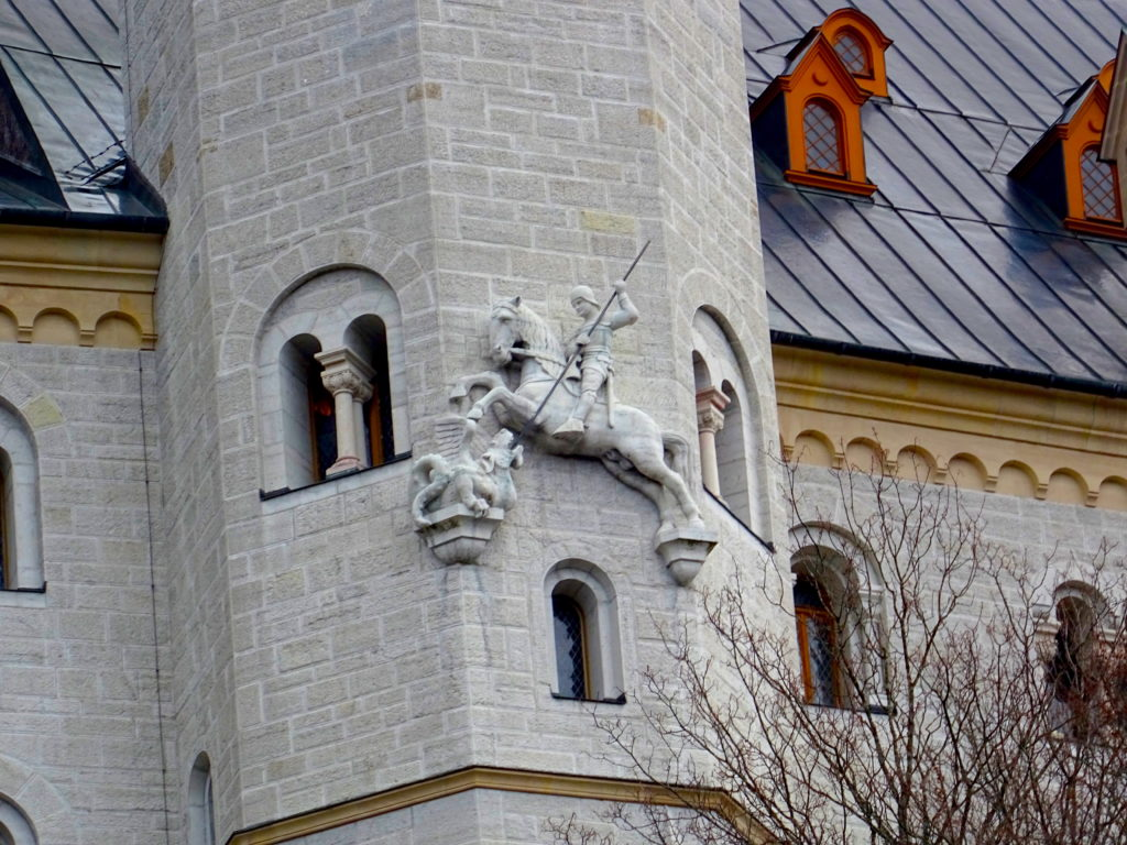 Decorations On Neuschwanstein