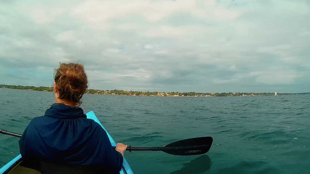 Kayaking On Lake Bacalar