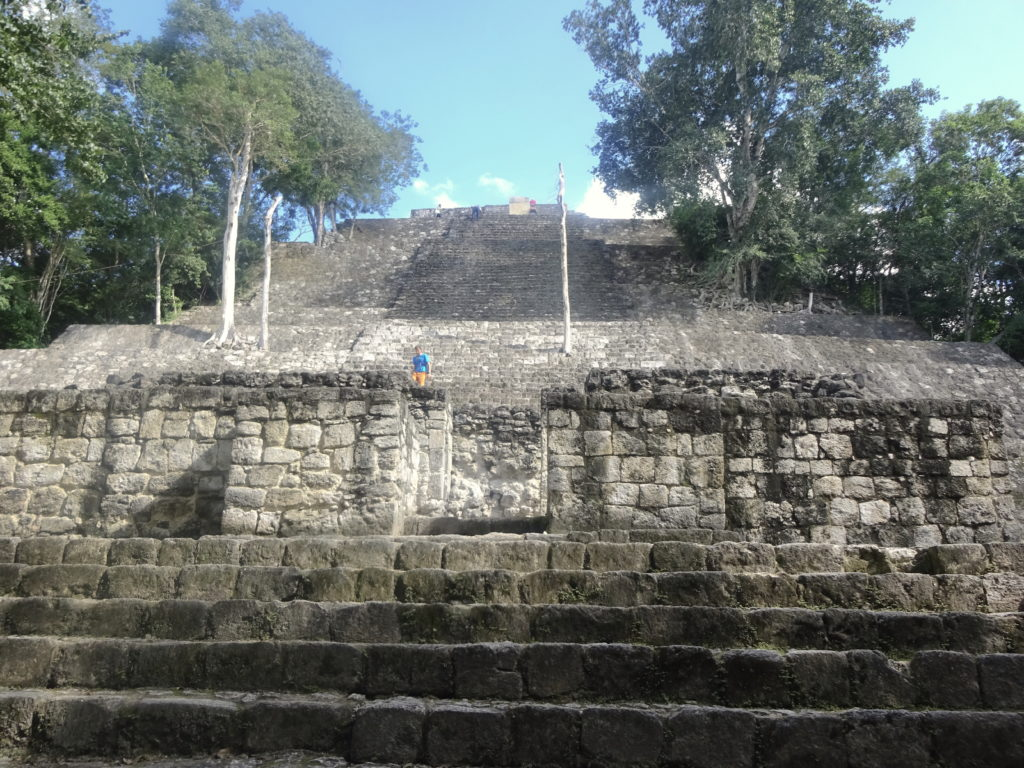 Structure I Calakmul
