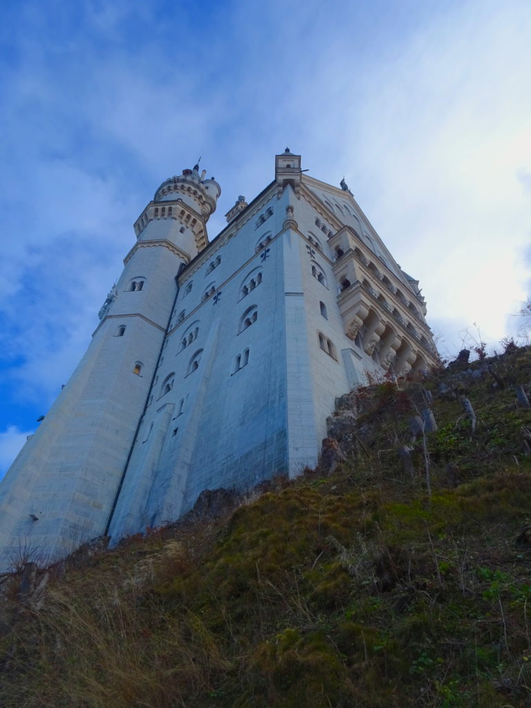 Looking Up On The Castle
