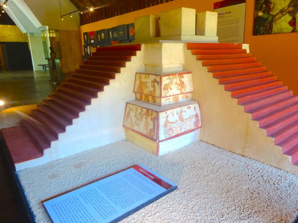 Calakmul Pyramid Replica