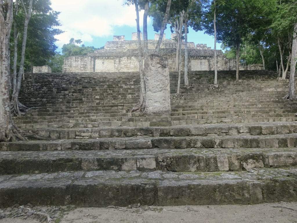 Structure XIII Calakmul