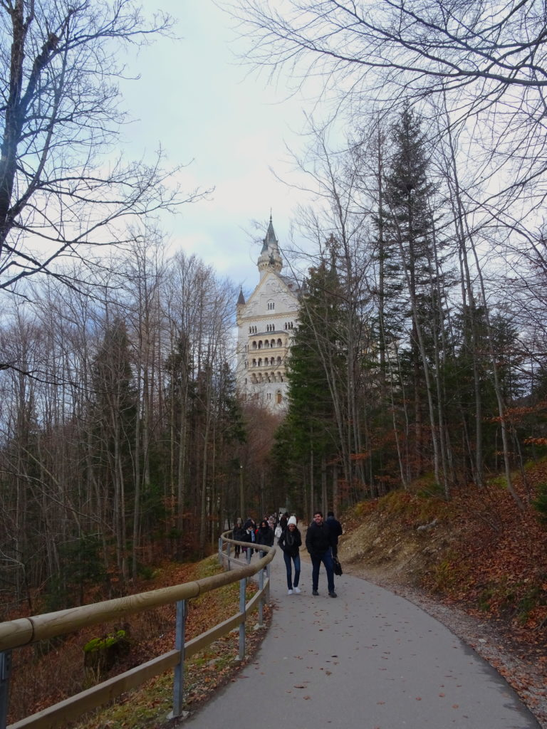 Walking Up To Neuschwanstein