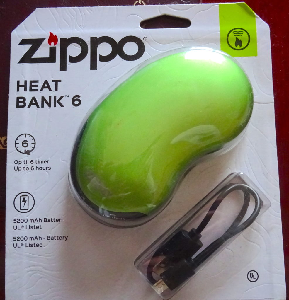 Zippo Handwarmer And Power Bank