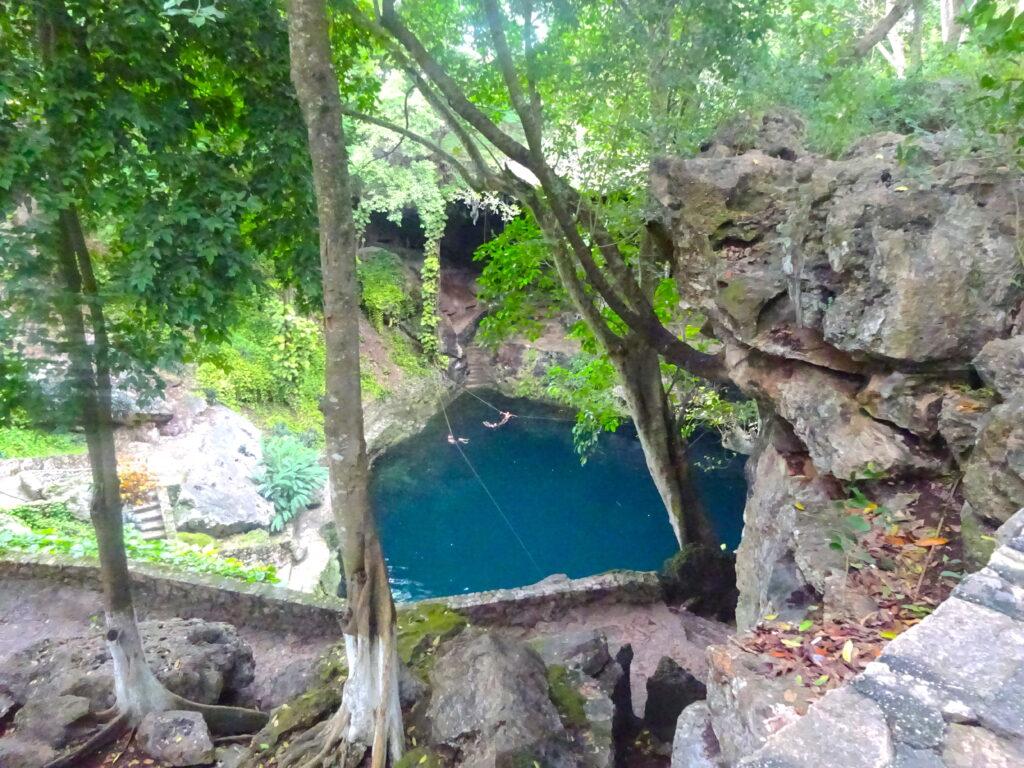 Cenote At Valladolid