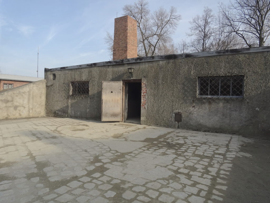 Gas Chamber And Crematorium