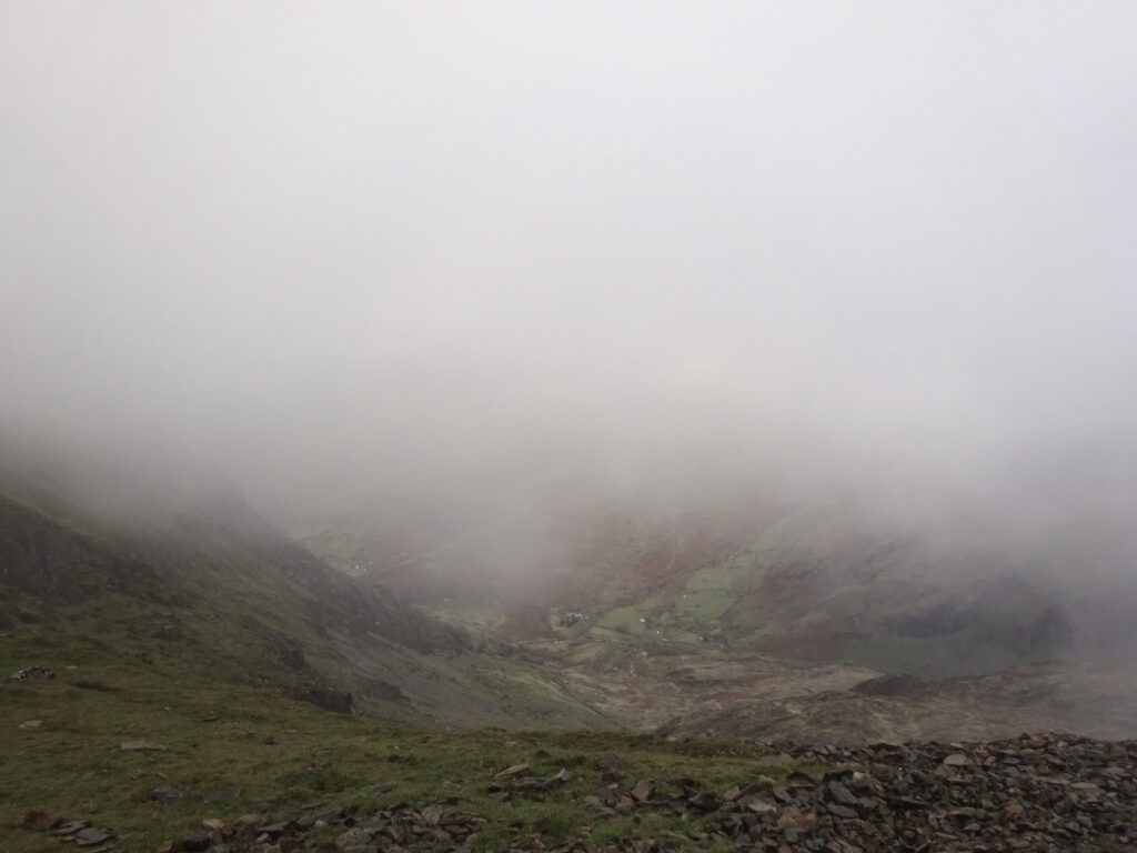 Snowdon Obscured By Mist