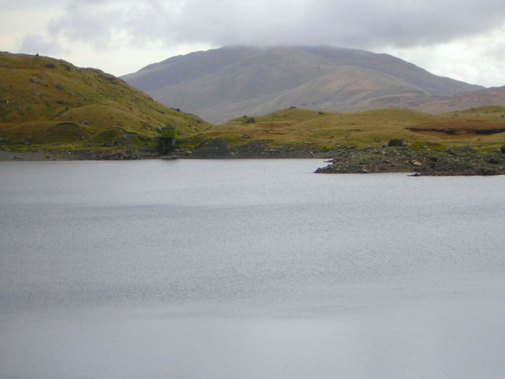 View Across Lake In Snowdonia