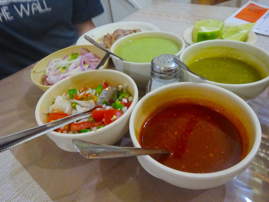 Mexico Travel Tip Always Use Sauces With Caution