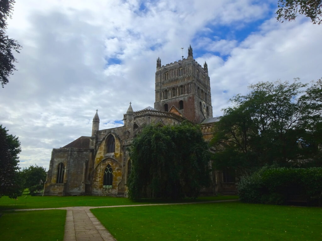 Entrance Of Tewkesbury Abbey