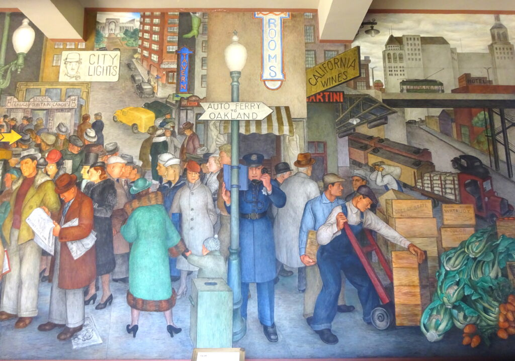 Mural Of San Francisco Life