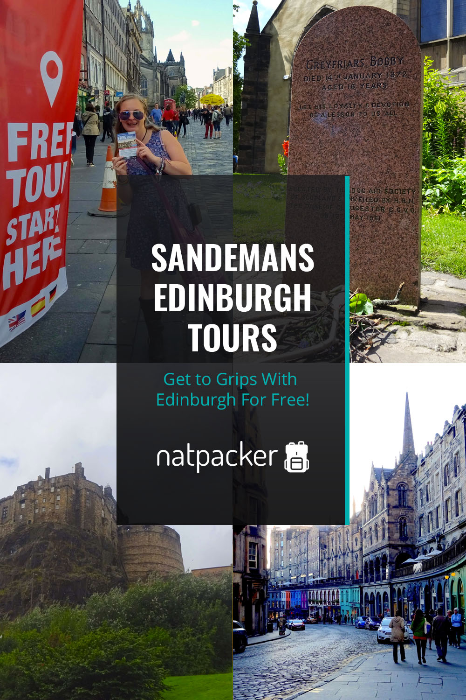 Sandemans Edinburgh Tours Pin
