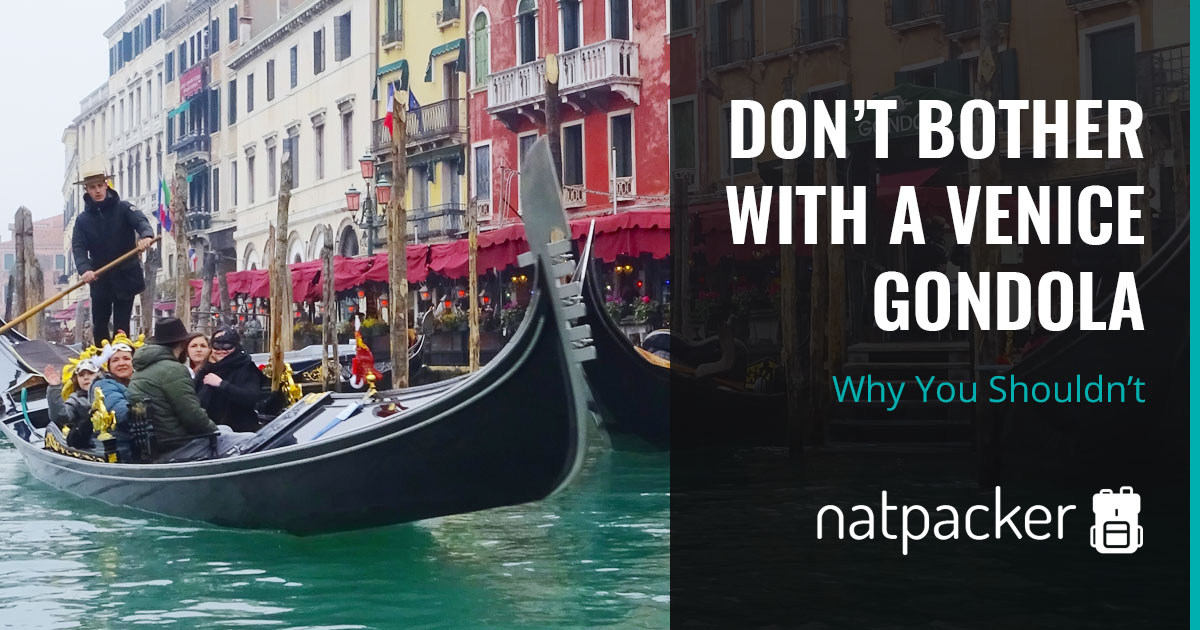 Why You Shouldn't Bother With A Gondola Ride In Venice