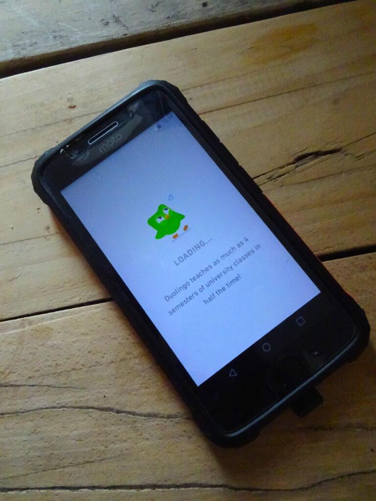 Duolingo On Phone
