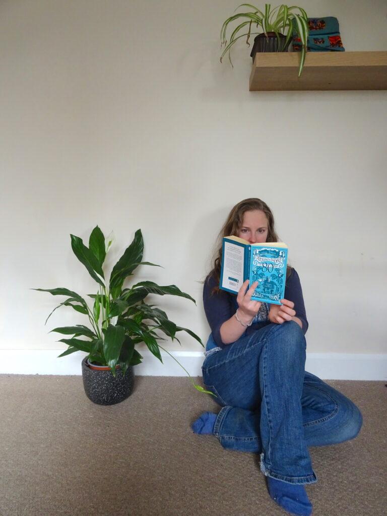 Natpacker Reading Around The World In 80 Days