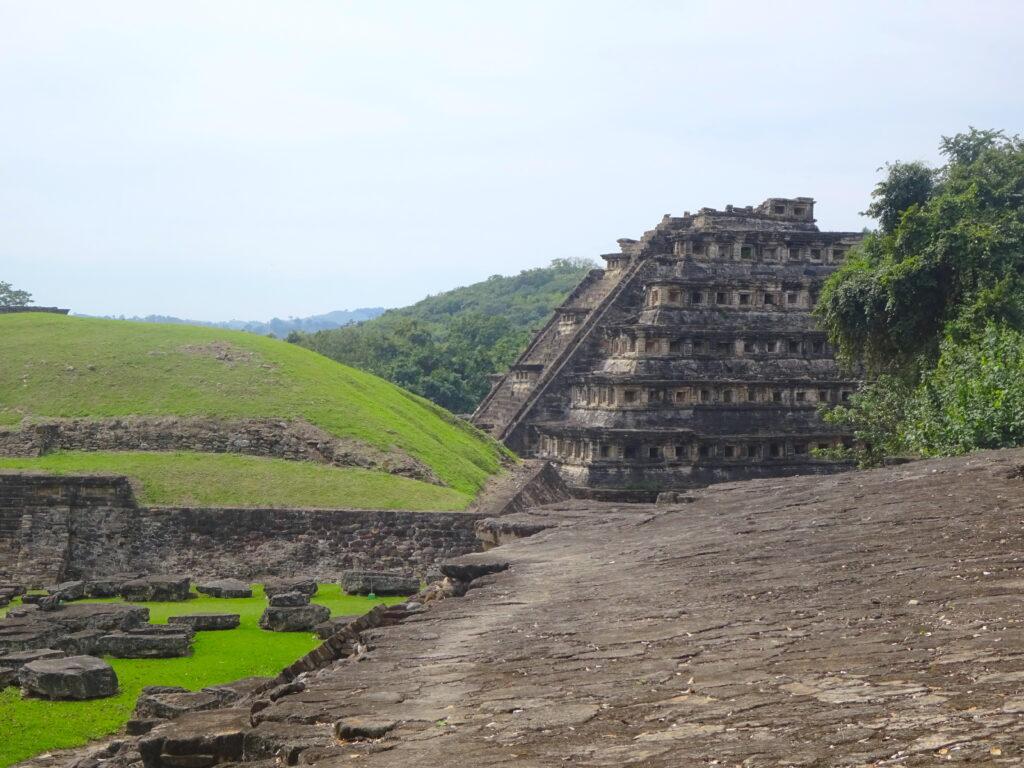 Pyramid Of Niches At El Tajin UNESCO Site In Mexico