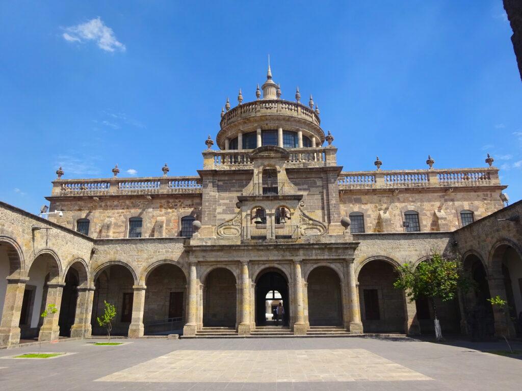 Outside The UNESCO Site Of Mexico Hospicio Cabañas