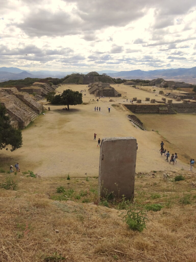 View Of Monte Alban Ruins