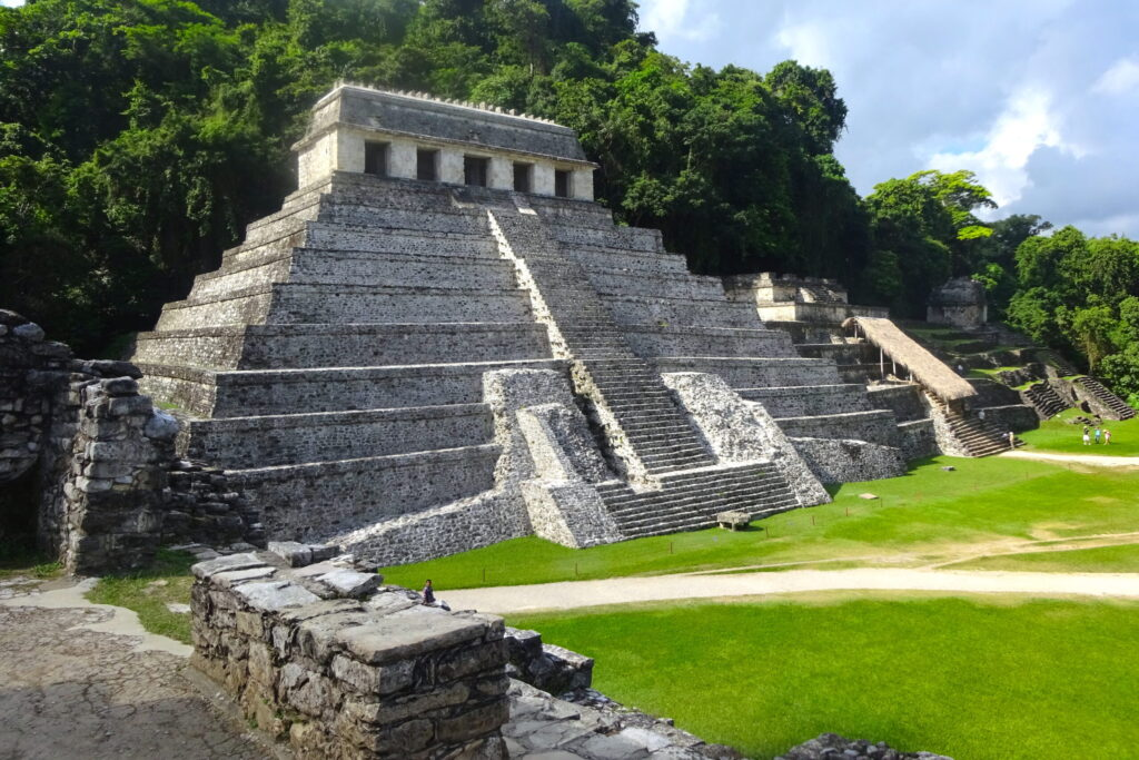 Tomb Of The Red Queen Pyramid At Palenque
