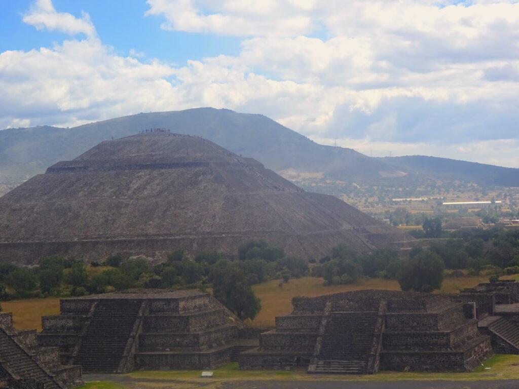 Large Pyramid At Teotihuacán