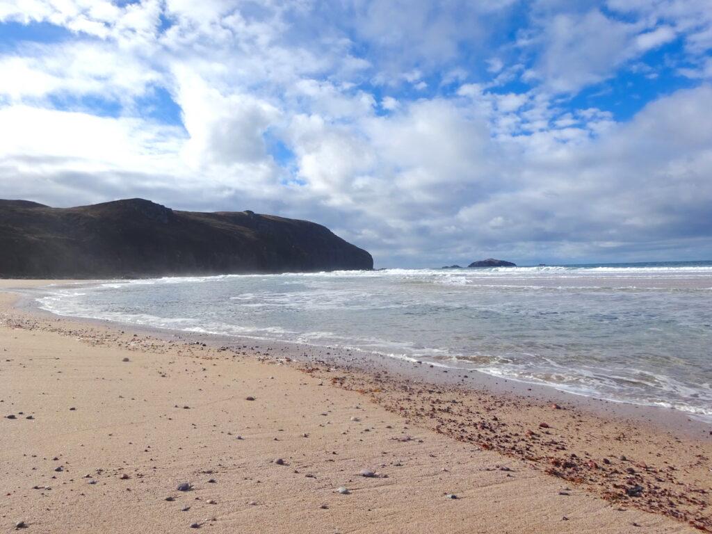 Ocean And Cliffs At Sandwood Bay